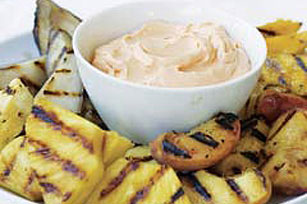 Grilled Orchard Fruit Platter Image 1