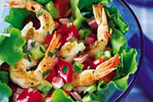 Grilled Shrimp Salad Image 1