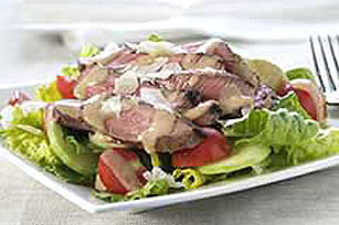Grilled Steak Caesar Salad Image 1
