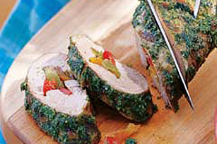 Grilled Stuffed Pork Tenderloin Image 1
