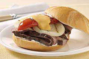 Grilled Steak & Onion Sandwiches Image 1