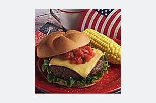 Grilled Taco Cheeseburgers Image 1