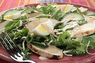 Grilled Thousand Island Chicken Salad Image 1