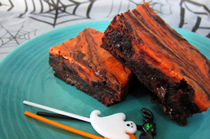 Halloween Scream Cheese Brownies Image 1