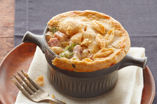 Ham & Cheese Pot Pie