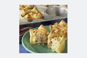 Ham & Dijon Pastry Cups