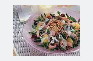 Ham & Pineapple Ranch Salad