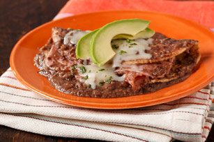 Ham Quesadillas in Black Bean Sauce Image 1
