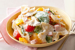 Ham & Vegetable Pasta Toss
