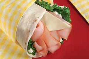 Easy Ham & Swiss Wrap Image 1