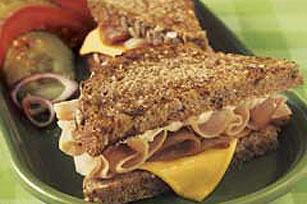 Sándwich de jamón Cordón Bleu