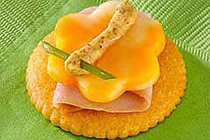 Ham and Cheese RITZ Butterfly Image 1