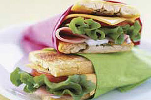 Ham & Cheese Plantain Sandwich Image 1