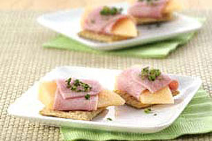 Ham & Melon Wrap
