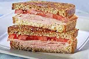 Ham & Parm Grilled Sandwich