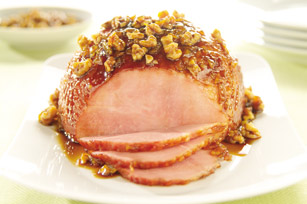 Ham with Walnut Glaze