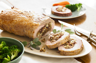 Harvest Stuffed Pork Loin