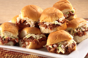 Hawaiian BBQ Pork Sliders Image 1