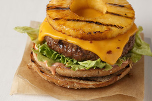 Hawaiian Luau Cheeseburger Image 1