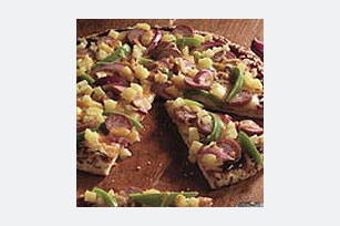 Hawaiian Sausage Pizza Image 1