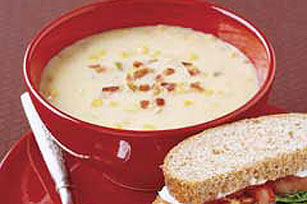 Suculenta sopa de maíz Image 1