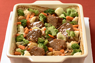 Hearty Round Steak Dinner