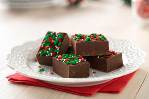 Holiday Fudge Bites
