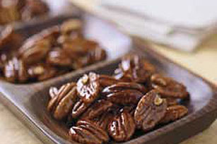 Honey-Glazed Pecans Image 1