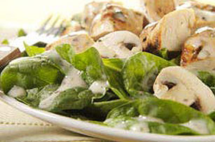 Honey-Herb Chicken & Spinach Salad Image 1
