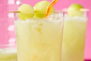 Agua fresca de melón con sabor a limonada