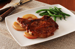 Honey Spiced BBQ Pork Chops Image 1