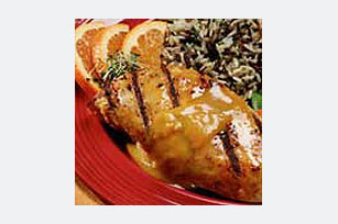 Honey-Mustard Ginger Grilled Chicken Image 1