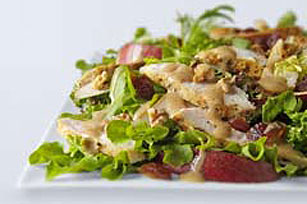 Honey Mustard-Pear Salad