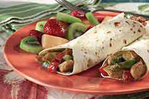 Honey Mustard Chicken Wrap Image 1