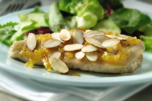 Honeyed Orange-Almond Chicken