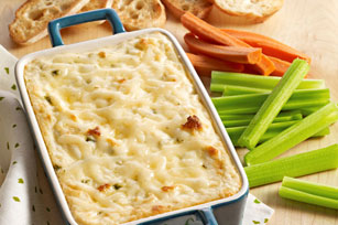 Hot Cheesy Herb & Garlic Dip