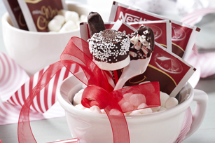 Hot Cocoa Gift with Holiday Dippers Image 1