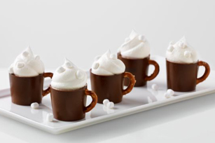 Reduced-Sugar Hot Cocoa Pudding Mugs