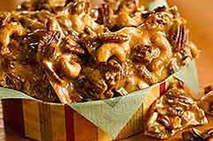 Hot-and-Sweet Pecan Brittle Image 1