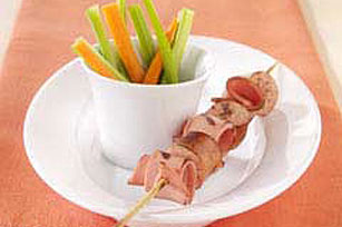 Hot Dog and Bologna Kabobs Image 1