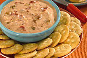Hot 'N Cheesy Salsa Spread Image 1