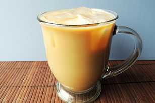 Iced Chocolate Hazelnut Latte Image 1
