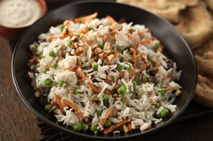 Indian Confetti Rice Salad