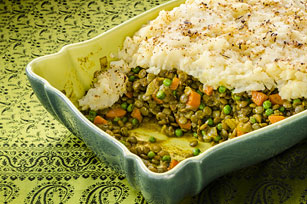 Indian-Scented Lentil Shepherd's Pie
