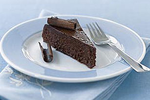 Intensely Chocolate Mousse Cake