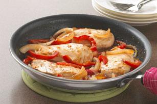 Poêlée de poulet à l'italienne Image 1