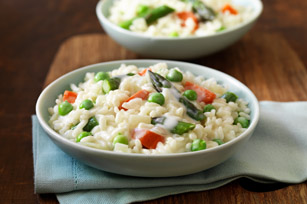 Italian Three Cheese Risotto