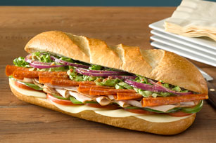 Zesty Italian Turkey Hoagie