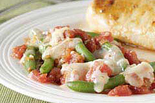 Italian-Style Green Beans Image 1