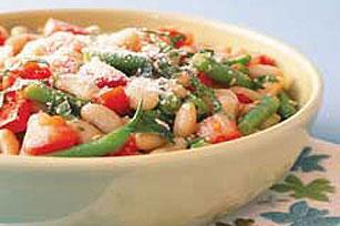 Ensalada italiana de frijoles y tomate Image 1